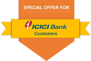 Special offer for ICICI Bank customers